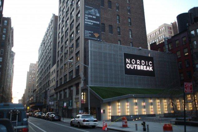 Nordic Outbreak Big Screen Plaza