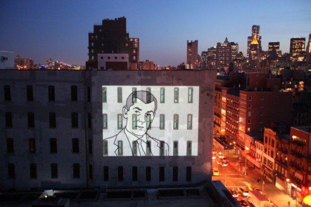 Tobias Anderson: The Wind, 2009. Udstillet på Bowery