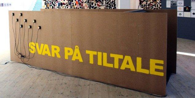 Kari-Mette Josefsen, Svar på tiltale, 2008, foto: Jens Møller Sørensen