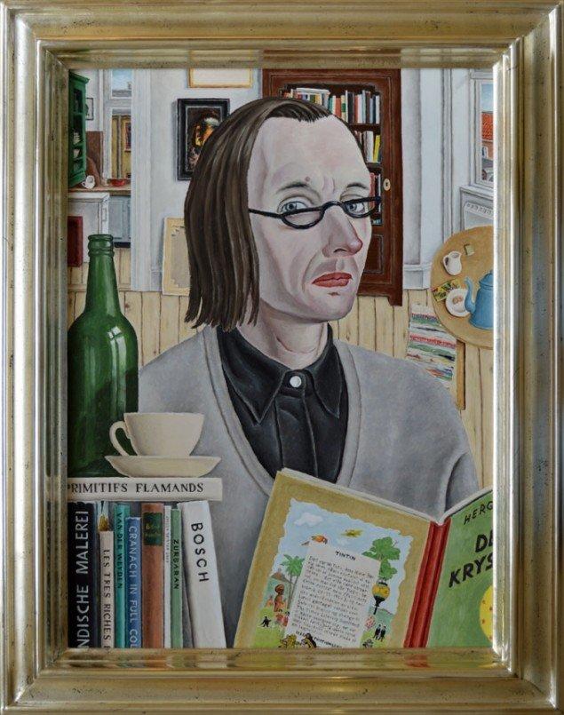 Jørgen Geisted: De syv krystalkugler, 2007. Foto: Galleri5000