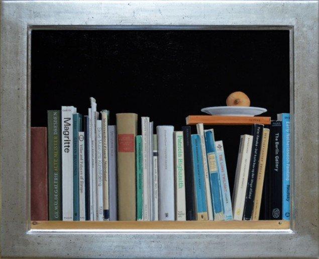Jørgen Geisted: Jørgens bøger, 1996 . Foto: Galleri5000