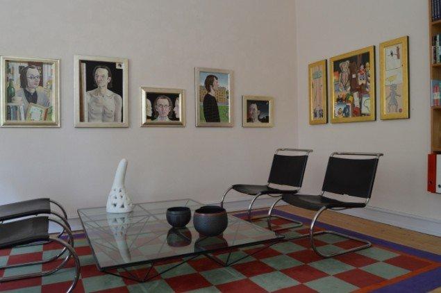 Jørgen Geisted: Udstillingsview. Foto: Galleri5000
