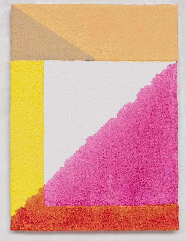 Uden titel, 2011. Akryl på lærred, 40 cm x 30 cm. Foto: Hans Holten