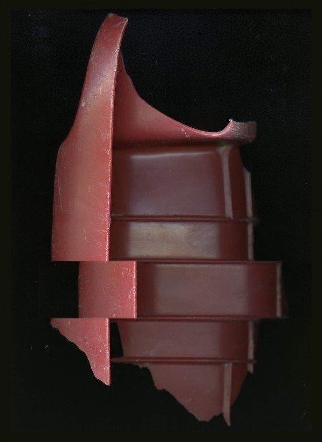 Rød, 805x1105 mm. Foto: Camilla Rasborg