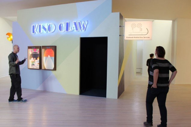 Ewa Einhorn and Jeuno JE Kim, Kino Claw, installation 2013. Foto: Anna Sandberg Falk