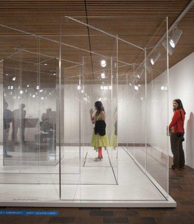 Yoko Ono, Telephone in Maze, 1971/2011/2013. Installationsbillede. Foto: Brøndum/Poul Buchard. Credit: Louisiana Museum of Modern Art.
