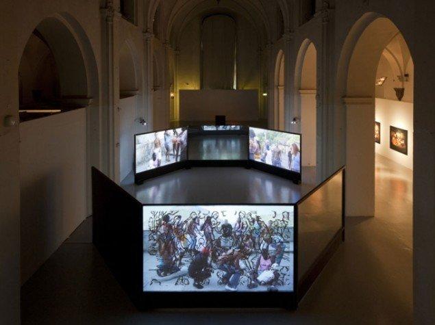 Dias & Riedweg: Funk Staden, 2007, installationsview (Foto: Lea Nielsen)