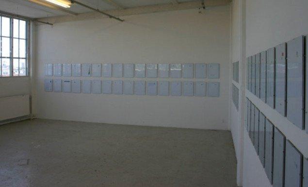 Systematisk opsætning af kommunalt brevpapir af Marianne Bitsch og Brian Enevoldsen. Foto: Kristian Handberg.