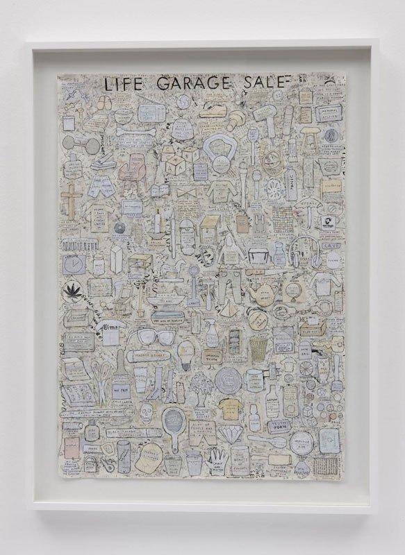 Simon Evans, Life Garage Sales, 2010 (© James Cohan Gallery / Galeria Fortes Vilaca)