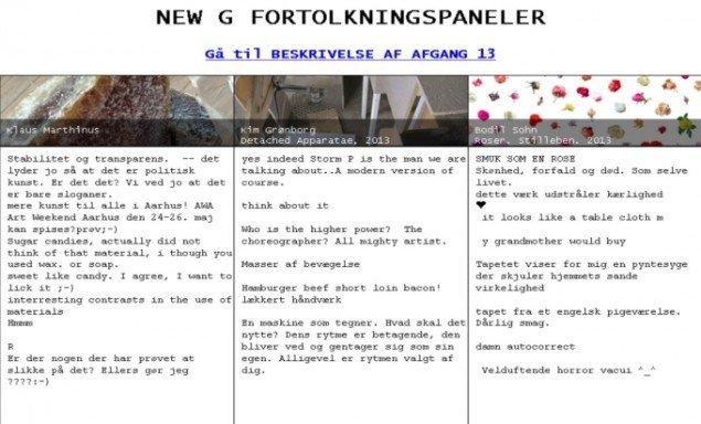 Sådan kunne kunstformidlingen tage sig ud i salene i maj måned i Kunsthal Aarhus. Pressefoto
