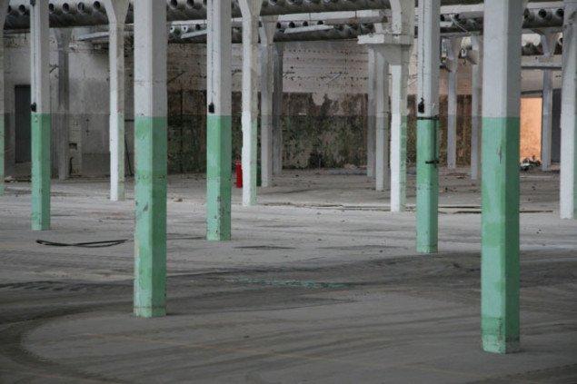 De gamle haller før renovering, Foto: Flemming Jarle