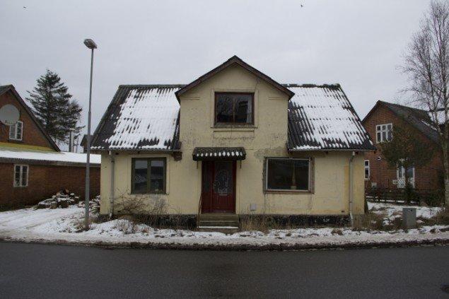 Huset Skivevej 13 i Selde. Foto: Presse