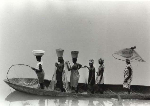 Kirsten Klein: Flodfærge, Guinea Bissau. Foto: Kirsten Klein
