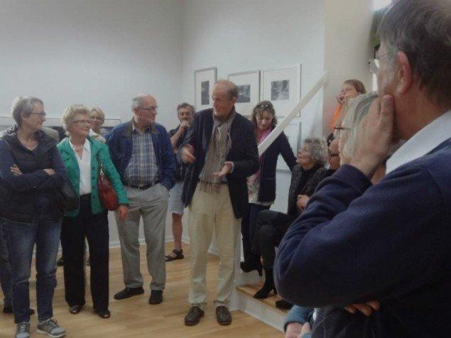 Krass Clement fortæller om fotografierne under ferniseringen