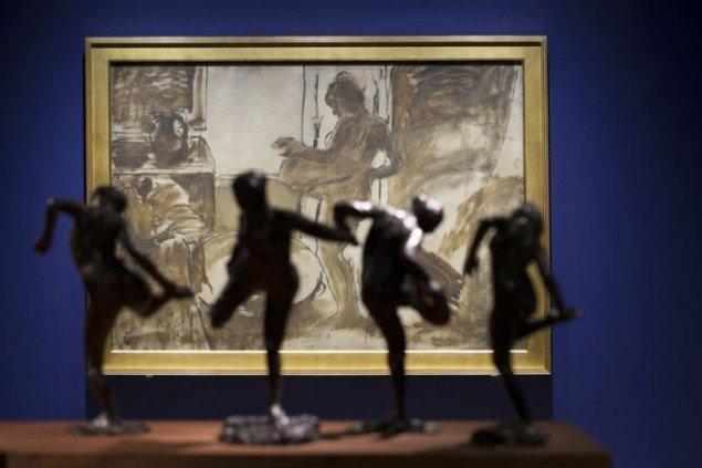 Degas' metode, installationsview (Foto: Anders Sune Berg)