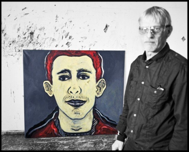 Portræt af Knud Odde, 2012. Fotograf: Tune Andersen