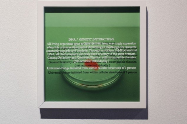 Jette Hye Jin Mortensen: Living Waves in Particular Forms, 2013 (detalje). (Foto: Anders Sune Berg)