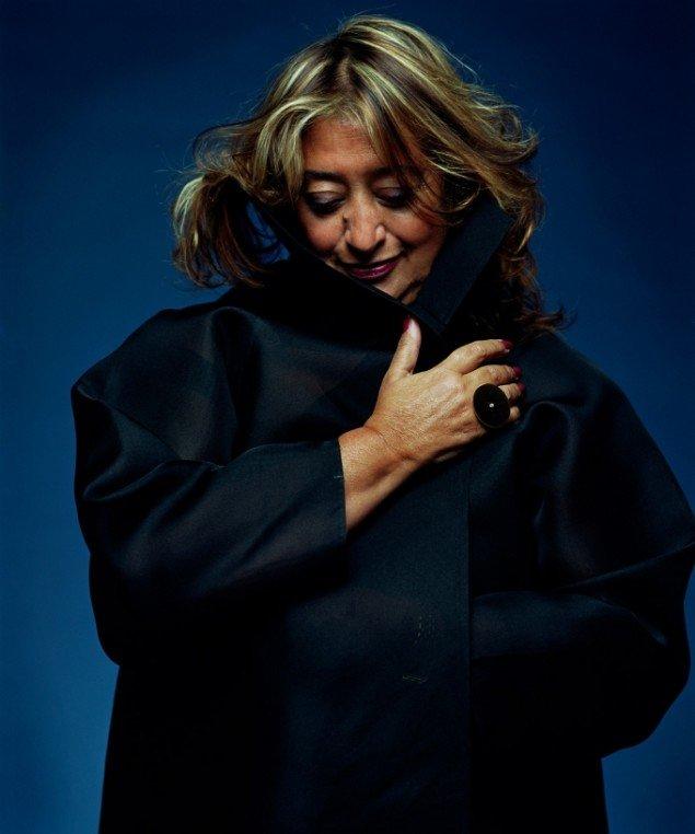 Zaha Hadid. Dansk arkitektur Center