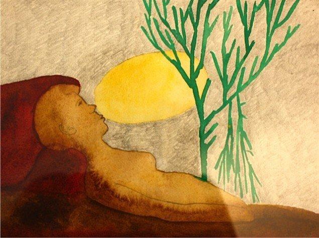 Cai Ulrik von Platen: Kapitel 6: Jeg vil gerne fortælle. Udvalgte akvareller. Foto: Trine Rytter Andersen