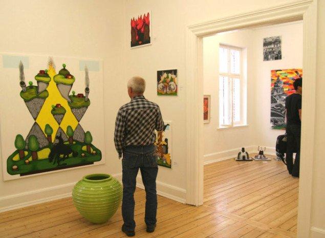 Den nye afdeling består af mange små rum. Foto: Maja Egelund