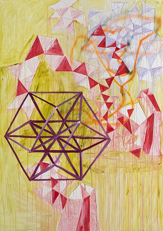 A Vision Fulfilled, 260 x185 cm, akryl på lærred, 2013.