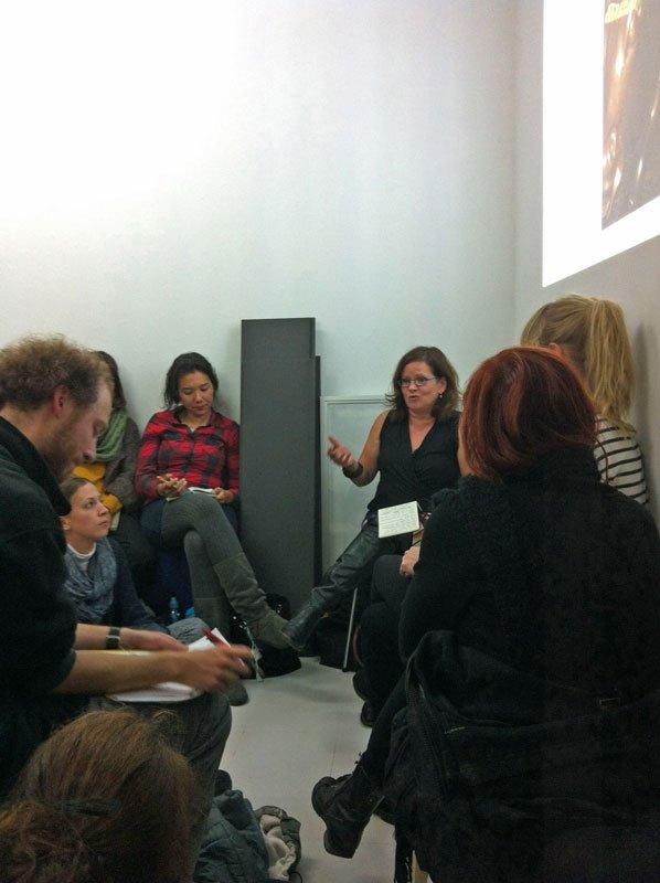 Den amerikanske sociolog og politiske teoretiker Jodi Dean holder forelæsning ved Bureau Publik.