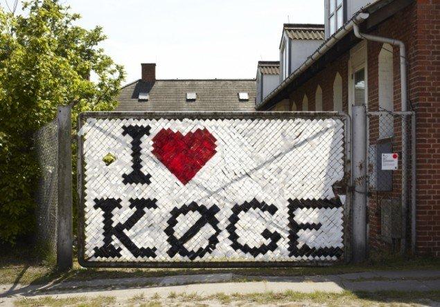 I heart Køge, foto: Lea Nielsen