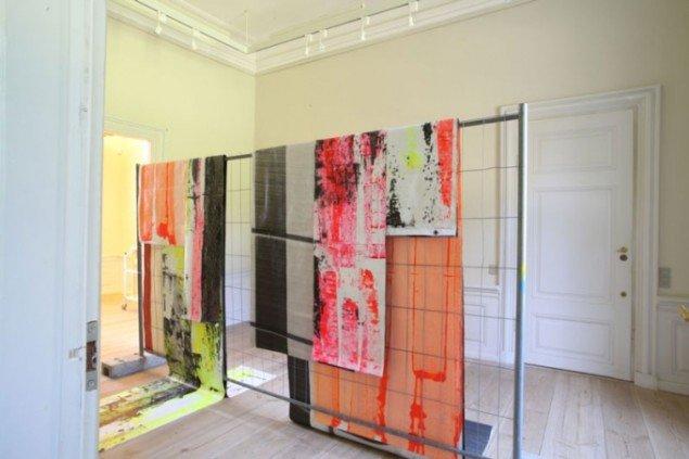 Installationsview: Franziska Hünig. (Pressefoto)