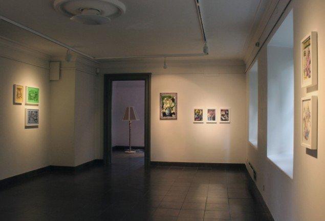 Lars Heiberg: Installations view. Foto: Lars Heiberg