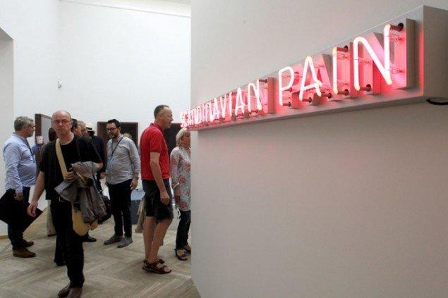 Andersen's Contemporary og i8 Gallery fra Reykjavik. (Foto: Carsten Nordholt)