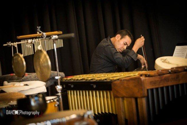 Kulturmødet bød på et koncertprogram med alt fra Zididada til her Christian Martinez. (Foto: Lars Dahl)