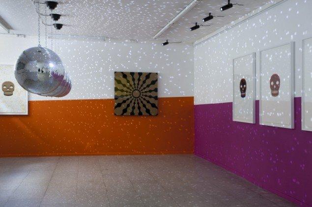 John M Armleder: Enter Before You Leave, installationview. Foto: Erling Lykke Jeppesen