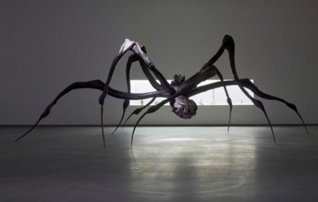 Louise Bourgeois, Crouching Spider, 2003. (Foto: Anders Sune Berg, ©The Easton Foundation / COPY-DAN)