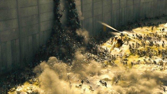 Grædemuren som zombie-værn...! (Foto: worldwarzmovie.com)