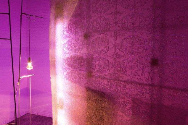 Udsnit af ornamenteret skærm. Foto: Martin Erik Andersen