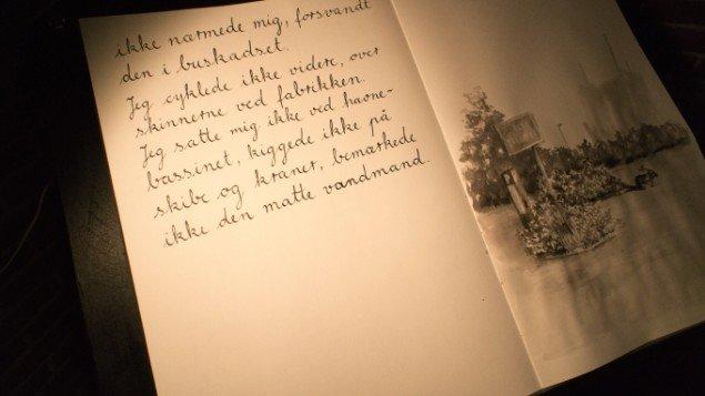 I en bog kan man læse om de udflugter den ensomme beboer ikke har foretaget.Foto: Kim T. Grønborg