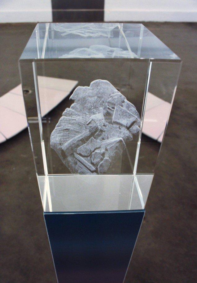 Sif Itona Westerberg: Post-mine encrustation. Pressefoto