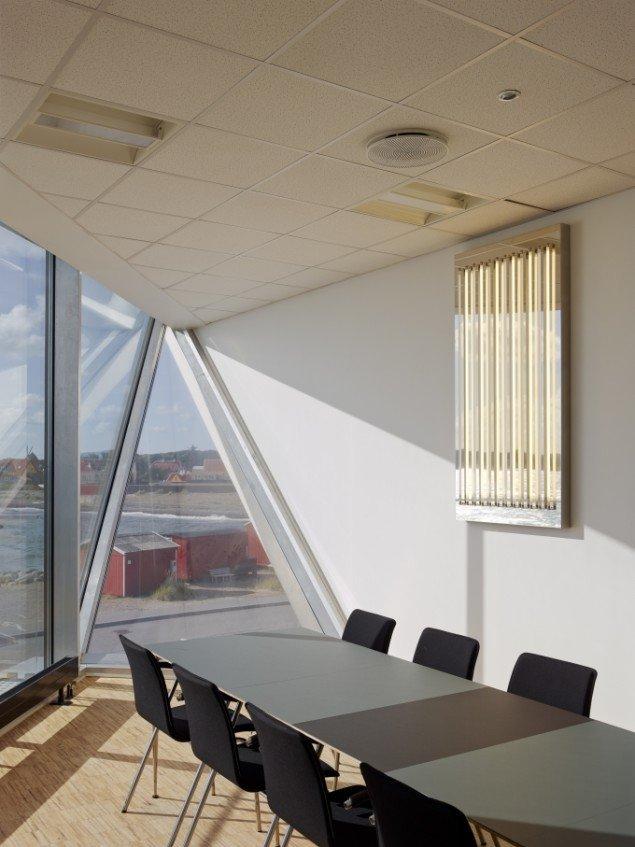 AVPD: Time Light fra mødelokalet i på skolen. Foto: Adam Mørk