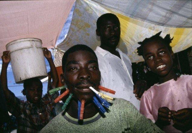 Henrik Saxgren: City Soleil, Port au Prince, 1994