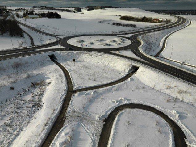Henrik Saxgren: Rundkørslen ved Horne, 2010