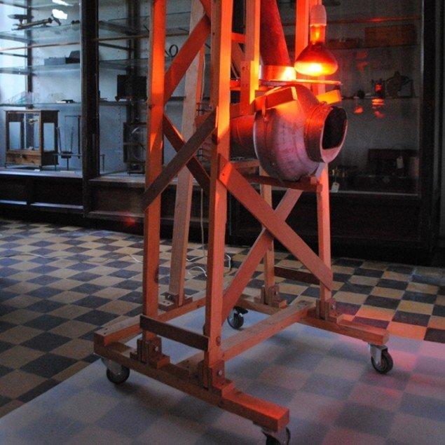 Henrik Menné: udstillingsview fra Naturkraft 2013 på Poul la Cour Museet og Vejen Kunstmuseum. Foto: Presse