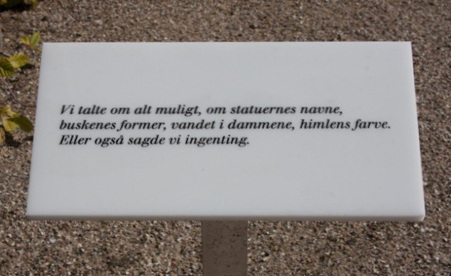 Nanna Dabois Buhl Havescener 2013, installation. Foto: Nanna Debois Buhl