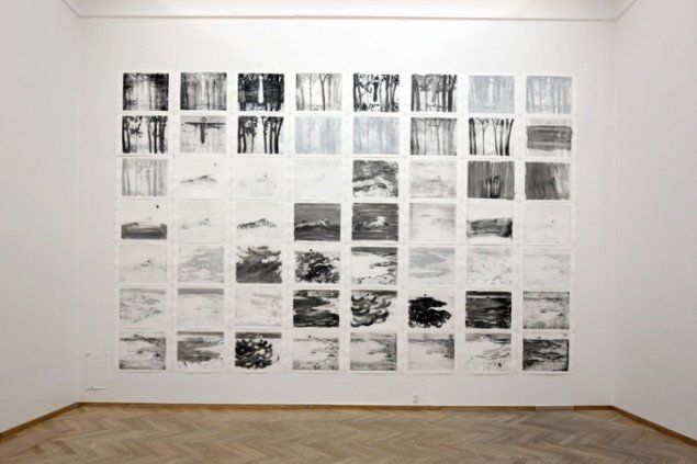 Silke Otto-Knapp: Geography and Plays, 2013, Installation shot. (Foto: Anders Sune Berg)