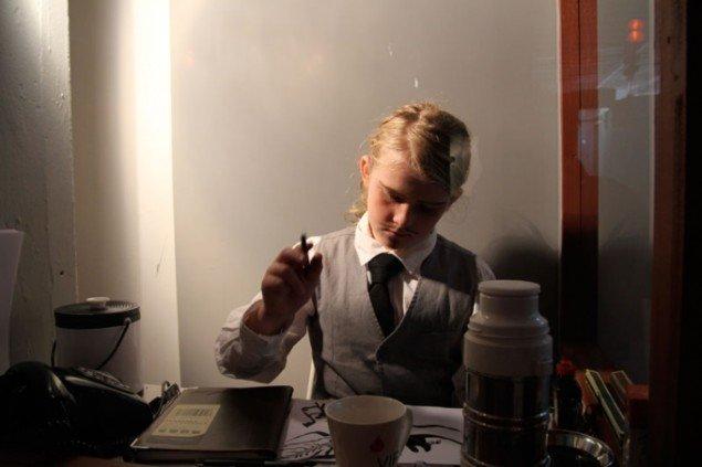 Liina Siib: Mass Line, 2013, Lilith Performance Studio. (Pressefoto)