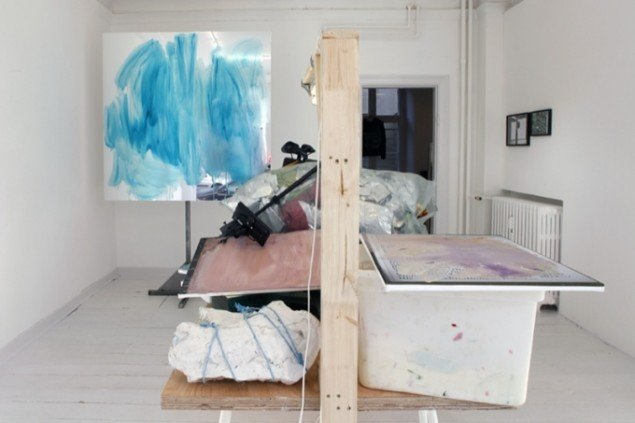 Peter Bonde, Installation view fra  Six Sculptures and Forty-Seven Drawings , 2013,  SOD Gallery. Foto: Marie Kirkegaard