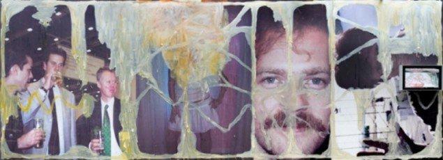 U.T.(TIME CAPSULE) , Mixed media, 400 X 1200 cm, 2006. Foto:Anders Sune Berg
