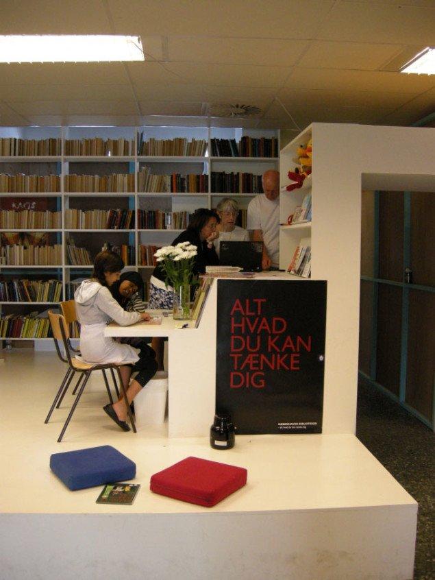 I bazaren er også indrettet bibliotek, biograf og lokalmuseum. Foto: Matthias Hvass Borello