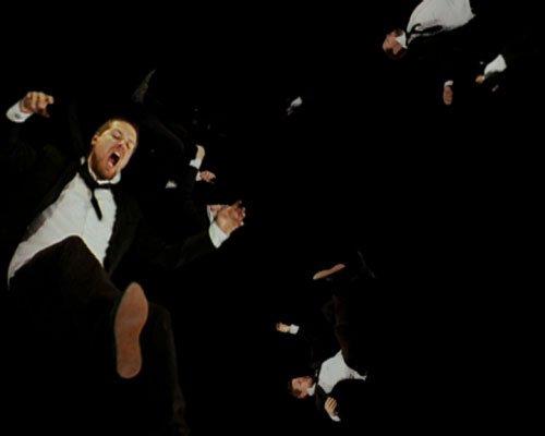 Jacob Tækker: I'm still falling, 2007. Videostill. Foto: Jacob Tækker