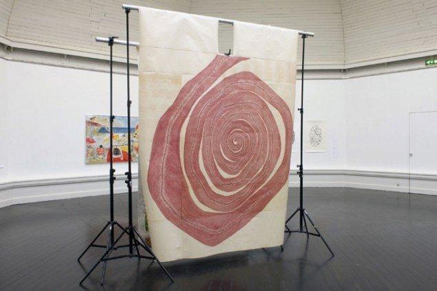 Maria Marstrand, Red Spiral. (Foto: Carsten Nordholt)