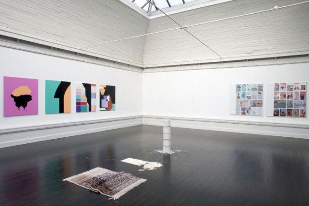 Installationsview, KE 2013. (Foto: Carsten Nordholt)